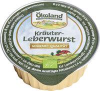 Feine Kräuterleberwurst