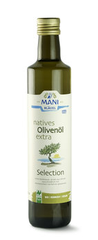 MANI natives Olivenöl extra, Selection, bio, NL Fa