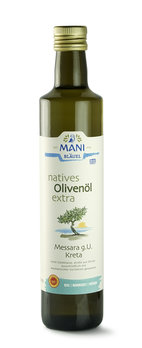 MANI natives Olivenöl extra, Messara g.U. Kreta, b