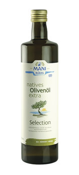MANI natives Olivenöl extra, Selection, bio