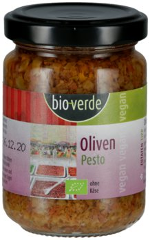 Oliven-Pesto vegan