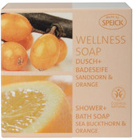Wellness Soap, Dusch- und Badeseife Sanddorn & Orange