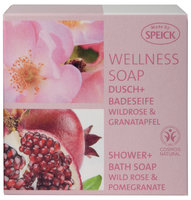 Wellness Soap BDIH Wildrose + Granatapfel