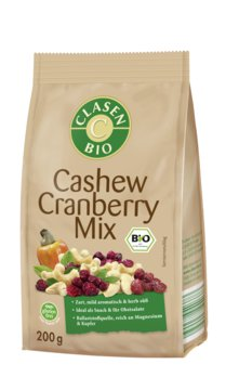 Bio Cashew-Cranberry-Mix