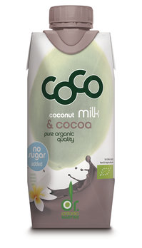 Coco Milk for Drinking Cocoa