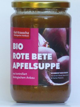Rote Bete-Apfelsuppe