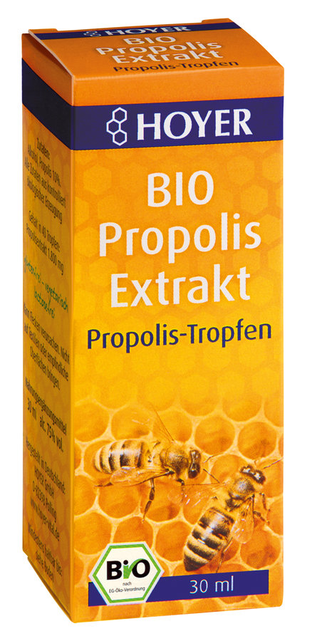 hoyer propolis extrakt bio tropfen 30 ml kyberg pharma vertriebs gmbh. Black Bedroom Furniture Sets. Home Design Ideas