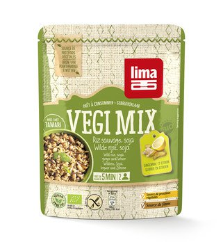 Vegi Mix Ingwer, Wildreis, Soja