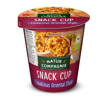 Snack Cup Couscous Oriental Style