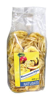 Bananenchips, frittiert