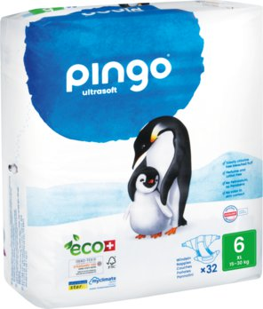 Bio Windeln XL 15-30kg Pinguin - PINGO SWISS