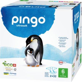 Bio Windeln XL Jumbo 15-30kg Pinguin - PINGO SWISS
