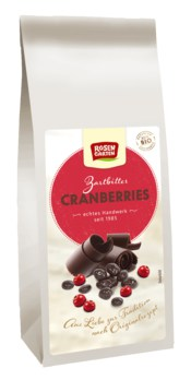 Zartbitter Cranberries