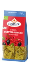 Dinkel Oliven-Snacks Rote Chili