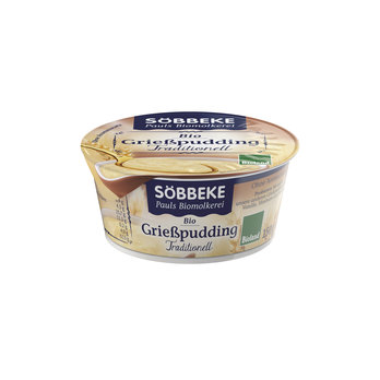 Bio Grießpudding Traditionell