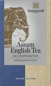 Assam English Tea Schwarztee bio