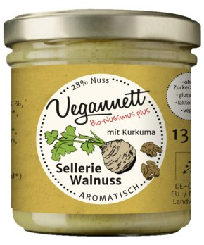 Sellerie Walnuss Bioaufstrich mit 28% Walnuss