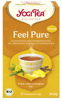 Yogi Tea® Feel Pure Zitrone Bio